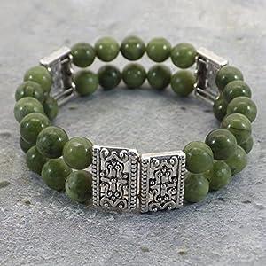 Armband Thurcolas Dual Reihen Jade Taiwan