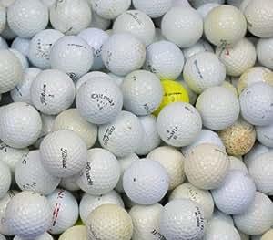 Second Chance Lot de 100 balles de golf de récupération Grade B