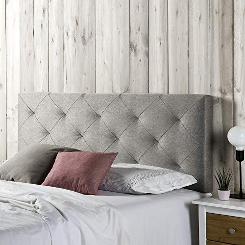 Marckonfort - Milan Kopfteil für Bett, 140 X 60 X 8 CM Rohgewebe