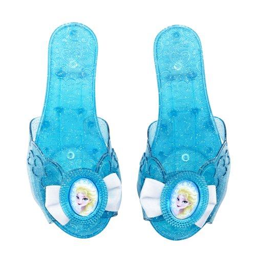 Jakks Pacific 73587 - Frozen Elsa Schuhe, XS, blau