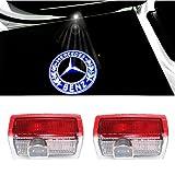 ColorBuy Türlicht Projektor LED Logo Tür Einstiegsbeleuchtung Einstiegslicht Autotür (Benz 2)