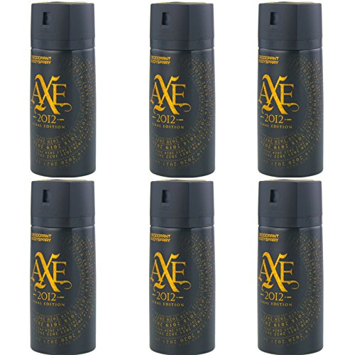 New Design Axe Final Edition 2012 Deospray 6 x 150ml = 900ml