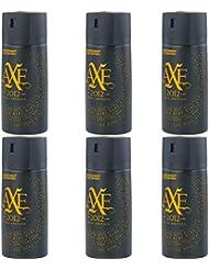 New Design Axe Final Edition 2012 Deospray 6 x 150ml = 900ml