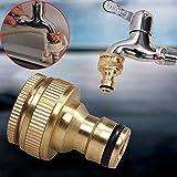 Sedeta conectores de latón tuercas conector de latón Conector de grifo exterior Reductor de latón manguera del agua buena calidad material de latón