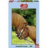 Schmidt Spiele 58350 - Ein Herz für Tiere, Zuneigung, 500 Teile Puzzle
