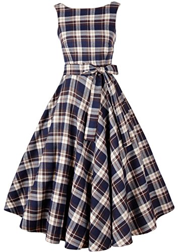 eudolah-damen-1950er-vintage-karo-a-linie-schwingen-abendkleid-party-kleid-cocktailkleid-rockabilly-