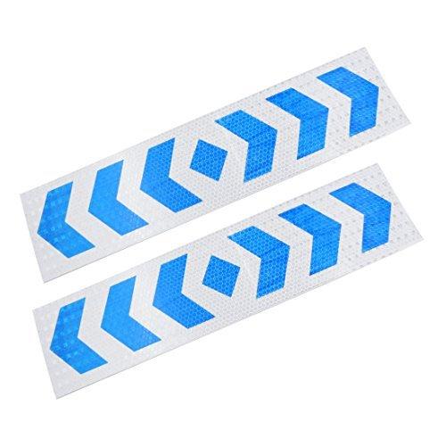 sourcingmap-exterieur-decor-arrows-imprime-reflechissant-sticker-bande-voiture-lot-de-2