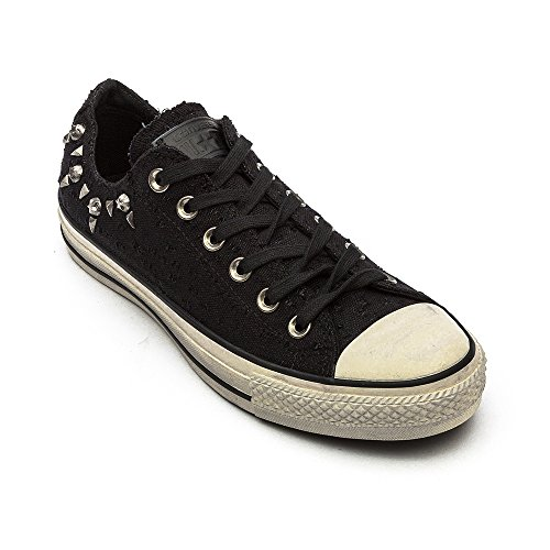 Converse CT Ox Black Womens Trainers Noir Hardware