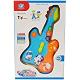 Toyhouse THKS855-9AB Small Guitar with Music and Light, Blue
