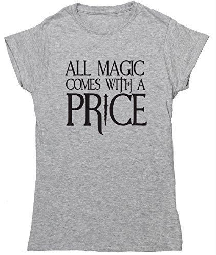 hippowarehouse-all-magic-comes-with-a-price-womens-fitted-short-sleeve-t-shirt
