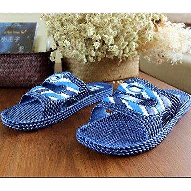 zhENfu Unisex pantofole & amp; flip-flops Estate Autunno comfort informale in PVC tacco piatto Grigio Beige Navy verde scuro Navy
