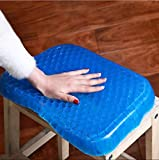 PETRICE Rubber Gel Soft Egg Cushion Sitter Soft Breathable Honeycomb Cushion Memory Seat