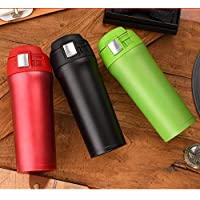 Double Y Double Walled Vacuum Flask Thermoses Stainless Steel Insulated Coffee Mug 18
