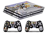 Skin PS4 PRO - TRUNKS DRAGON BALL GT - Limited Edition Decal étuis de protection pour faceplates Playstation 4 Sony BunDLE