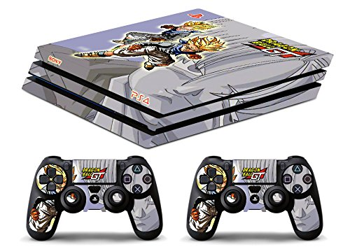 Skin PS4 PRO HD - TRUNKS DRAGON BALL GT