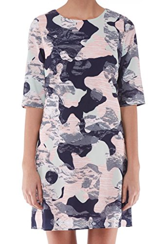 Sugarhill Boutique Robe Mesdames imprimé camouflage Mint Green Peach