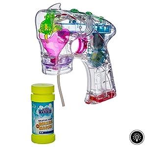 Betoys-131866-Pompas de jabón Pistola Luminoso-Little Bubble