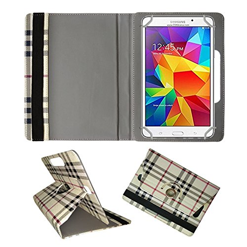 Fastway Rotating 360° Leather Flip Case For Samsung Galaxy Tab 4 T231 Tablet( 8 GB, Wi-Fi+3G)-Cream  available at amazon for Rs.289
