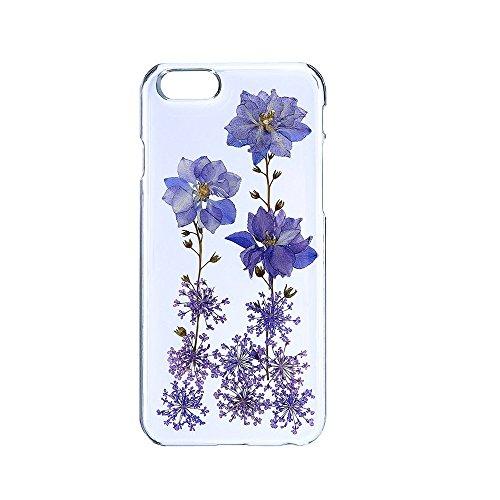 Schutzhülle für iPhone 6/6S, einzigartiges Design, gepresste Blumen, Handy-Schutzhülle, 11,9 cm (4,7 Zoll), Farbe 12 Color 01