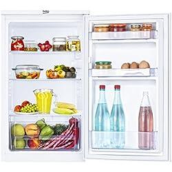 Beko TS 190020 Kühlschrank / A+ / Kühlteil: 88 L / Weiß / Unterbaufähig / MinFrost-Technologie / Automatische Abtauung / höhenverstellbare Ablagen
