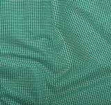 Vichy-Karo Baumwolle 2 mm - Grün-Weiss - 140 cm breit