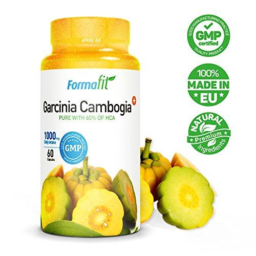 *Garcinia Cambogia 1000mg 60% HCA – 1 Packung – 60 Kapseln. Starker appetithemmer und fettverbrenner. Verhindert die fettspeicherung und fördert die effektive gewichtsabnahme!*