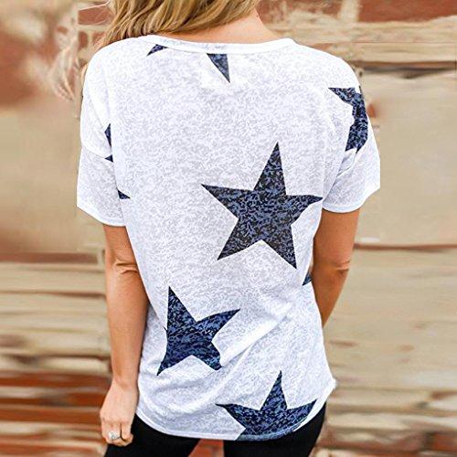 -Camiseta-Casual-Para-MujerCamiseta-de-Mujer-con-Estrellas-de-Manga-Corta-con-Cuello-Redondo-Absolute