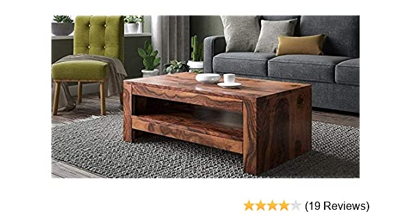 Coffee Table Pick Up Line.Corazzin Wood Rectangle Sheesham Wooden Coffee Table For Living Room Wooden Center Table Teak Finish