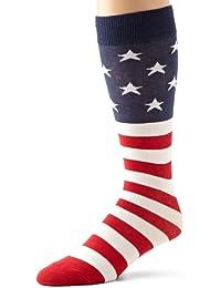 K.Bell Black Label Men's Flag Crew Sock