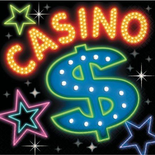 Casino Luncheon Napkins