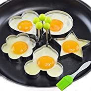 Stainless Steel Egg Mold Pancake Mould Ring Fried Cooking Shaper