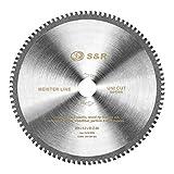 S&R Disco Smerigliatrice / Lama sega circolare 96 Denti 254x30x3,2 mm multimateriale Uni Cut per Sega da Banco