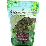 Food to Live Semillas de calabaza orgánicas (pepitas) (Crudas, sin cáscara) 906 gramos
