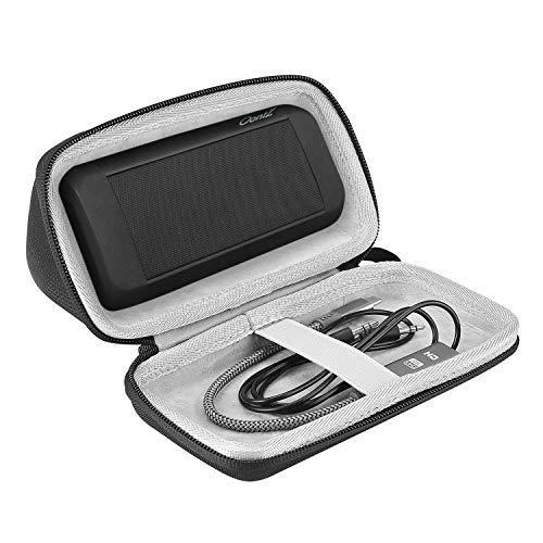 ProCase Hart Hülle für OontZ Angle 3 Ultra/Plus, stoßfest Eva Reisetasche Aufbewahrungstasche für Cambridge SoundWorks OontZ Angle 3 Ultra/Plus Edition Portable Wireless Kabellos Speaker -Schwarz Schwarz Portable Speaker