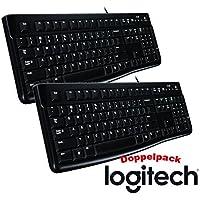 Logitech Keyboard K120 (DE Layout | 2er Pack)
