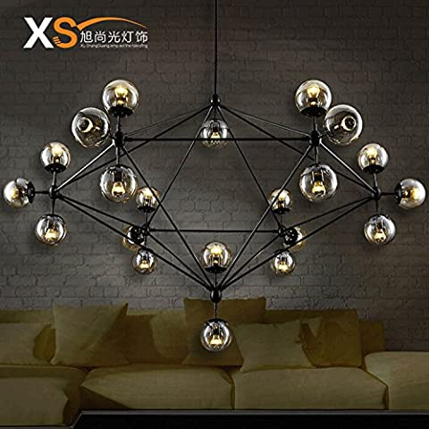 Moderna luce pendente retrò industriale stile vintage luce lampadario creativo