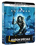 Aquaman (Steelbook Collector Blu-ray 4K Ultra HD) - Included CD - Limited Edition