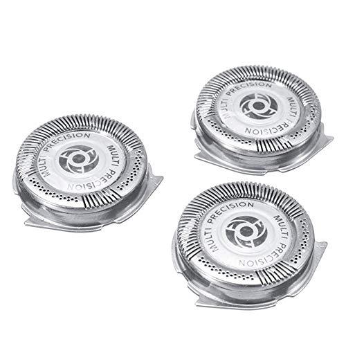 QUUY 3 STÜCKE Cutter Head Shaver Tool Universal ersatz schereinheit Für Philips Serie 5000 Shaver SH50 / 51/52 HQ8 -