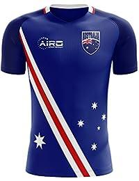 Airo Sportswear 2018-2019 Australia Flag Away Concept Football Soccer T-Shirt Camiseta