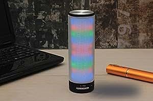 Enceinte sans fil lumineuse et originale, haut-parleur bluetooth avec kit main libre - Speaker design, high tech à LED