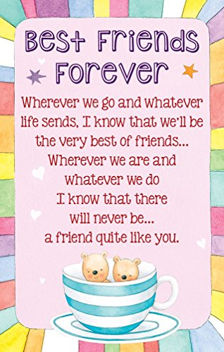 Heartwarmers Best Friends Forever Keepsake Card