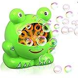 Gifort Máquina de Burbujas Rana automática, máquina sopladora de Burbujas portátil, soplador de Burbujas