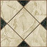 28x Vinyl Boden Fliesen-Selbstklebend-Küche/Bad Sticky-Brandneu-Viktorianisches Marmor 193