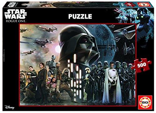 Educa 17013 - 500 Rogue One Star Wars Puzzle Star Wars Puzzle-educa