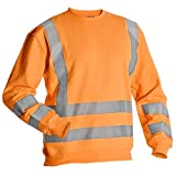 Warrior Workwear 0118Miamio/XL Miami ad alta visibilità felpa con cappuccio, taglia XL, colore: arancione