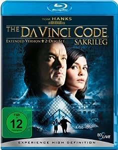 The Da Vinci Code - Sakrileg (Extended Version) [Blu-ray]