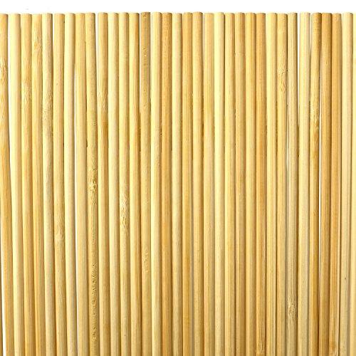 ORANGE DEAL 100 x Pflanzenstüze Tomatenstangen Rankgitter aus Holz Pflanzstab Rankstab 90 cm aus Bambus Ø 6 mm inkl. 40 Pflanzenbinder und 30m Bindfaden - 3