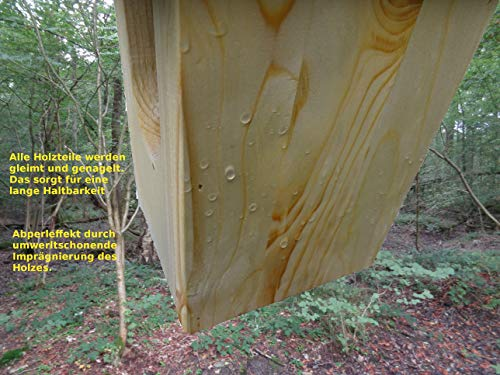 Nistkasten für Rotkehlchen aus massivem Holz - 2