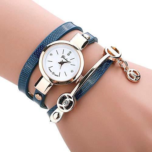 HEATLE Uhr ansehen Gute Qualität Luxus Männer Analog Digital Militär Sport Led Wasserdicht Armbanduhr (1PC, Blau)