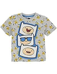 Adventure Time T-Shirt Infant Boys Grey/Multi Top Tee Tshirt Shirt